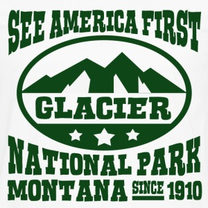 GLACIER NATIONAL PARK MONTANA - Men's Premium Long Sleeve T-Shirt
