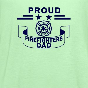 proud_firefighters_dad_tshirt - Women's Flowy Tank Top by Bella
