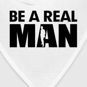 Be A Real Man Hoodies - Bandana