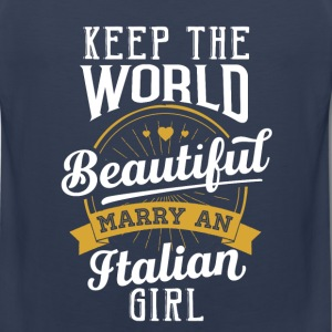 Marry an Italian Girl - Men's Premium Tank