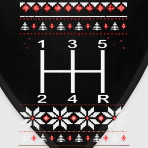 Gear Shifter Christmas Sweater! - Bandana