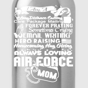 Air Force Mom Shirt - Water Bottle