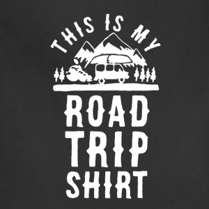 Road Trip Shirt - Adjustable Apron