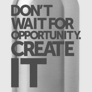 Opportunity - Motivational Quotes. - Water Bottle