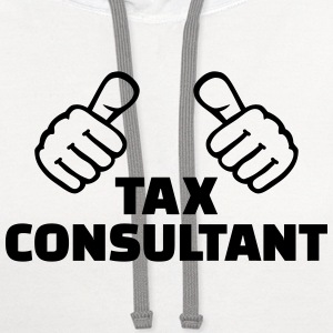 Tax consultant T-Shirts - Contrast Hoodie