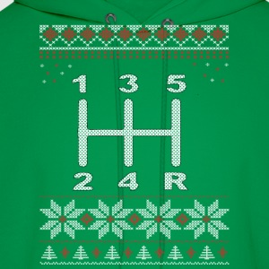 5 Speed Gear Shift Xmas T-Shirts - Men's Hoodie