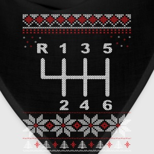 6 Speed Gear Shift Holiday Sweatshirt - Bandana