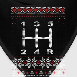 5 Speed Gear Shift Xmas Long Sleeve Shirts - Bandana