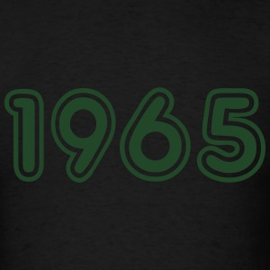 1965, Numbers, Year, Year Of Birth Long Sleeve Shirts - Men's T-Shirt