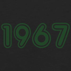 1967, Numbers, Year, Year Of Birth Sportswear - Men's Premium Long Sleeve T-Shirt