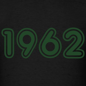 1962, Numbers, Year, Year Of Birth Long Sleeve Shirts - Men's T-Shirt