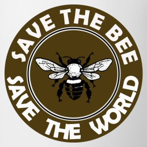 SAVE THE BEE SAVE THE WORLD - Coffee/Tea Mug