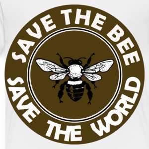 SAVE THE BEE SAVE THE WORLD - Toddler Premium T-Shirt