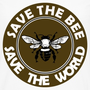 SAVE THE BEE SAVE THE WORLD - Men's Premium Long Sleeve T-Shirt
