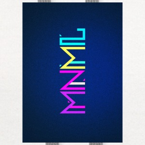 Minimal Type (Colorful) typography - phone cover Phone & Tablet Cases - Contrast Hoodie