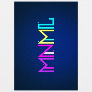 Minimal Type (Colorful) typography - phone cover Phone & Tablet Cases - Men's Premium Tank
