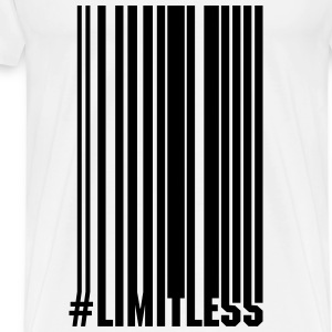Limitless Barcode - Men's Premium T-Shirt
