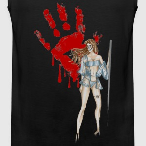 bloody-hand T-Shirts - Men's Premium Tank
