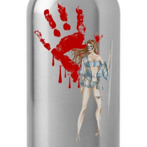bloody-hand T-Shirts - Water Bottle