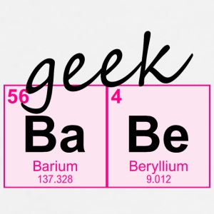 Periodic Table Geek BaBe - Men's Premium T-Shirt