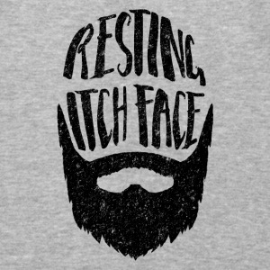 Resting Itch Face - Funny Beard PUn Hoodies - Baseball T-Shirt