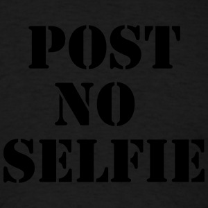 Post no selfie Sportswear - Men's T-Shirt