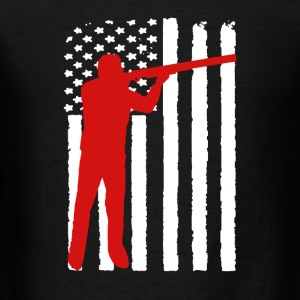 Sports Shooting Flag - Men's T-Shirt