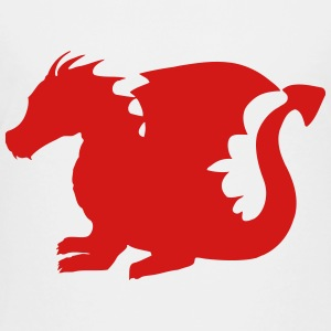 Baby Dragon Silhouette Kids' Shirts - Toddler Premium T-Shirt