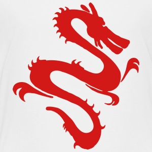 Asian Dragon Art Kids' Shirts - Toddler Premium T-Shirt