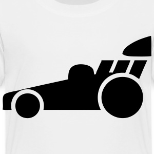 Dragster Race Car Kids' Shirts - Toddler Premium T-Shirt
