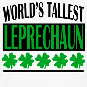 WORLD'S TALLEST LEPRECHAUN - Men's Premium Long Sleeve T-Shirt