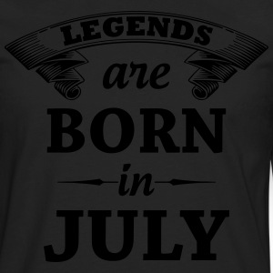 Legends Are Born In JULY T-Shirts - Men's Premium Long Sleeve T-Shirt