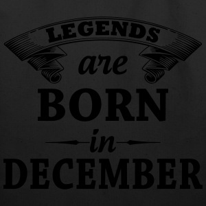 Legends are Born in December  T-Shirts - Eco-Friendly Cotton Tote