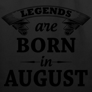 Legends are Born in August  T-Shirts - Eco-Friendly Cotton Tote