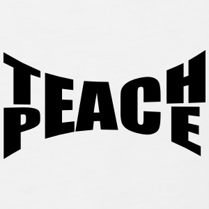 Teach Peace Polo Shirts - Men's Premium Tank