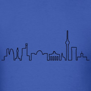 Skyline of Berlin Long Sleeve Shirts - Men's T-Shirt