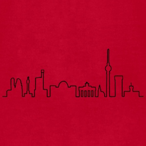 Skyline of Berlin Mugs & Drinkware - Men's T-Shirt by American Apparel