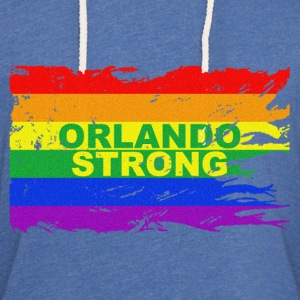 ORLANDO STRONG II CLEAN - Unisex Lightweight Terry Hoodie