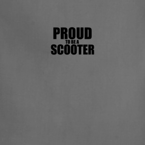 Proud to be a scooter T-Shirts - Adjustable Apron