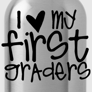 I Love My First Graders T-Shirts - Water Bottle