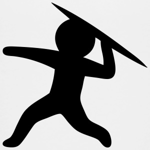 Javelin Throw (Stickman / Stickfigure) Kids' Shirts - Toddler Premium T-Shirt