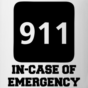 911 In-Case of Emergency (call) T-Shirts - Coffee/Tea Mug
