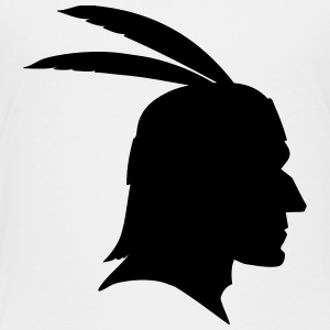 Native Indian Head Silhouette Kids' Shirts - Toddler Premium T-Shirt
