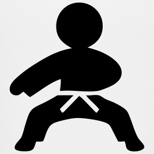 Karate (Stickman / Stickfigure) Kids' Shirts - Toddler Premium T-Shirt