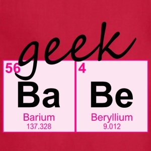 Periodic Table Geek BaBe - Adjustable Apron
