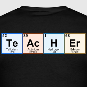 Periodic Table Chemistry Teacher - Men's T-Shirt