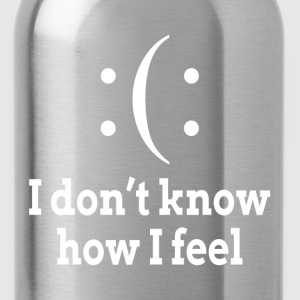 Bipolar I Don't Know How I Feel T-Shirts - Water Bottle