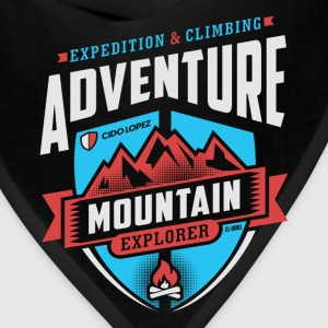Adventure Mountain Design Art - Bandana