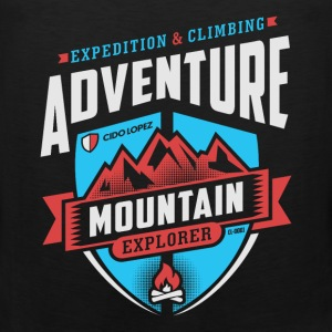 Adventure Mountain Design Art - Men's Premium Tank