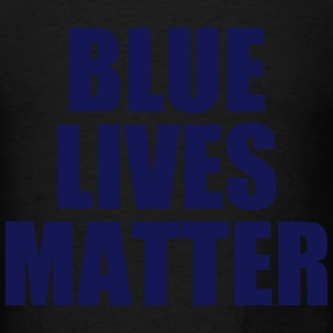 Blue Lives Matter Long Sleeve Shirts - Men's T-Shirt